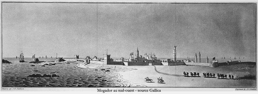 Mogador vue du Sud-ouest. / Ph. Gallica